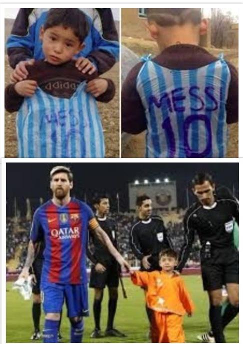 Masih ingat Murtaza Ahmadi bocah kecil asal Afghanistan yang viral karena mengenakan kantung kresek bertuliskan Messi dengan nomor punggung 10?. Bak gayung bersambut, Murtaza akhirnya diundang ke markas Barcelona untuk bertemu sang idola Pulsker.