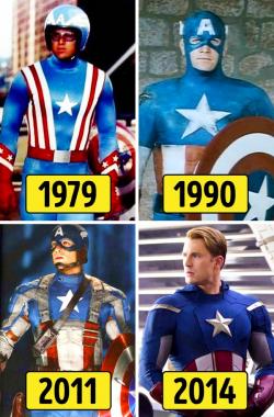 Seperti Ini Perubahan Superhero dari Masa ke Masa