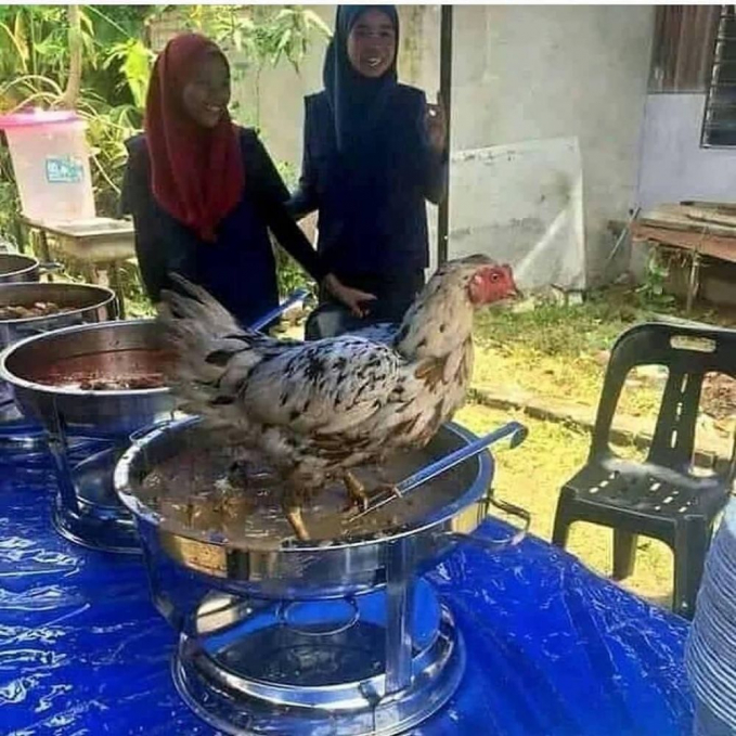 The real soto ayam :D