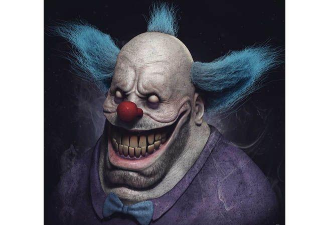 Namanya aja sih Krusty the Clown, tapi sosoknya malah seram lucu dari mananya tuh?.