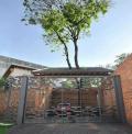 Luar Biasa dan Estetik Banget. Bangunan ini Dibangun Tanpa Menebang Pohon di Sekitarnya.