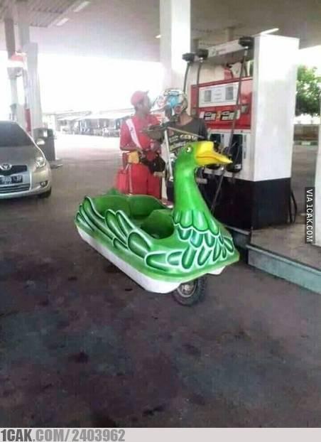 Inilah penampakan motor bebek yang sesungguhnya.