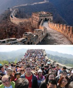 10 Realita Tempat Wisata di Dunia Ini Nggak Seperti yang Kita Pikirkan