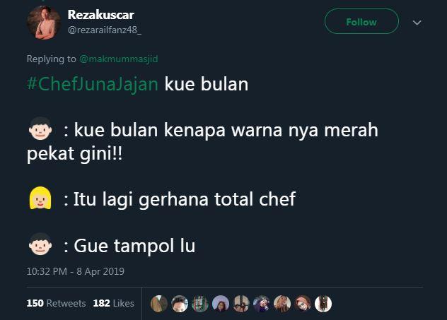 Jangan sekali-kali bikin Chef Juna emosi deh kalau nggak mau sakit hati.