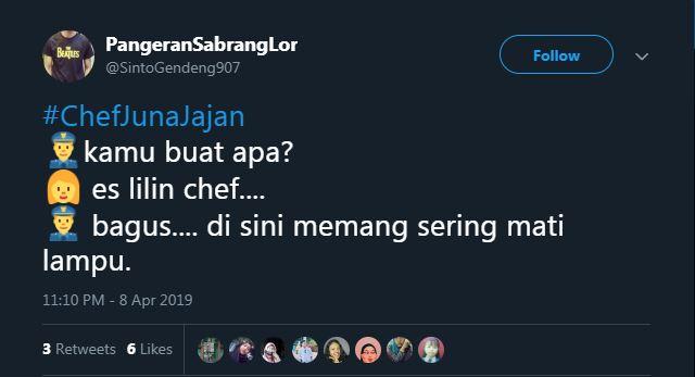 Ketika Chef Juna lagi baik hati.