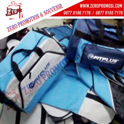 WOW Keren!!! Produksi Custom Travel Bag - Souvenir Tas Promosi