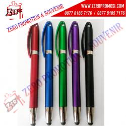 WOW Keren!!! Pulpen Stylus Promosi - Pen Plastik Termurah 744