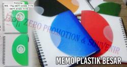 WOW KEREN!!! Souvenir Blocknote Spiral Perusahaan - Memo Plastik Besar Termurah