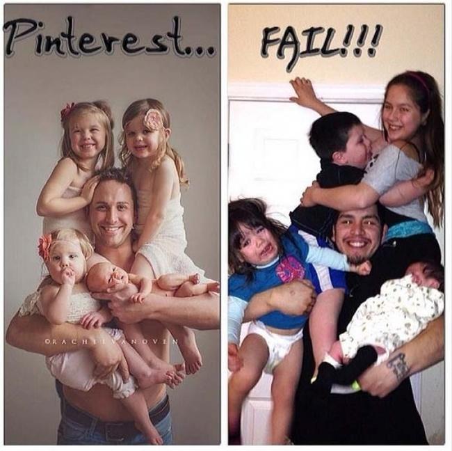 Nah lo, kalau anaknya sudah beranjak gede gini kan jadi ribet mau meniru foto keren di internet.