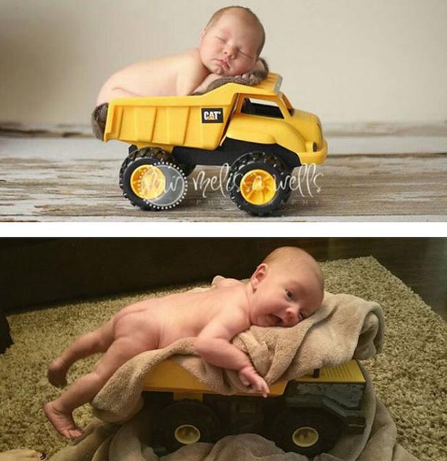 Kelihatannya enak banget si bayinya tidur di mobil-mobilannya. Padahal kenyataannya, ngarahin aja susahnya minta ampun.