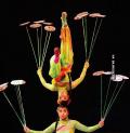 Foto-Foto Atraktif Pertunjukan Akrobat di Cina yang Mendebarkan