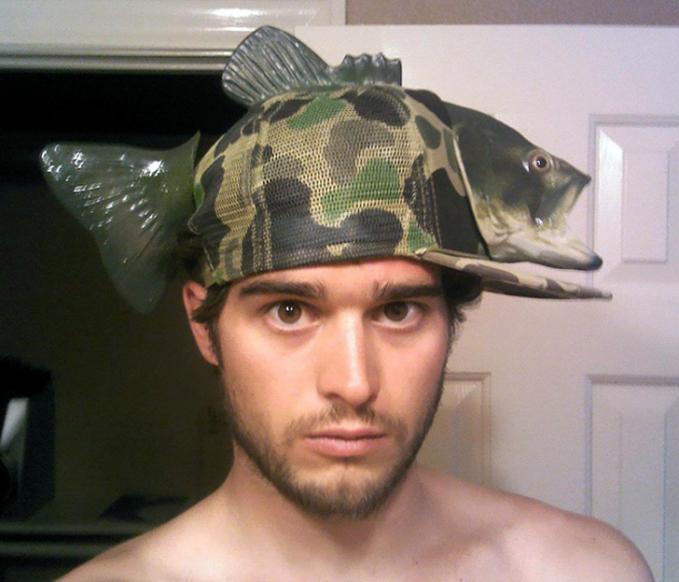 Keren juga sih sebenarnya topinya.