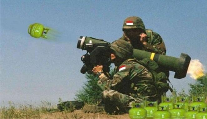 Senjata canggih yang memanfaatkan kearifan lokal.