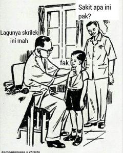 Nggak salah denger nih dokter?.