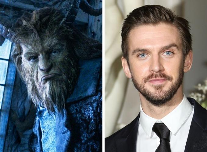 Saat bermain dalam film 'Beauty and the Beast' wajah Dan Stevens harus dipermak sedemikian rupa sesuai dengan karakter.