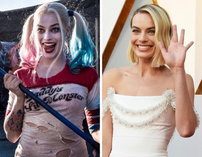 Percayalah, Robbie Margot di dunia nyata nggak seram seperti di film 'Suicide Squad' kok guys.