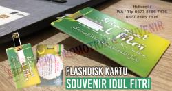 WOW Keren!!! Flashdisk Kartu Souvenir Ucapan Lebaran – Souvenir idul fitri