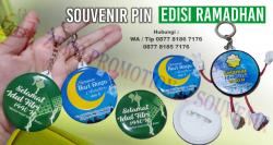 WOW Keren!!! Souvenir Ramadhan - Pin Idul Fitri