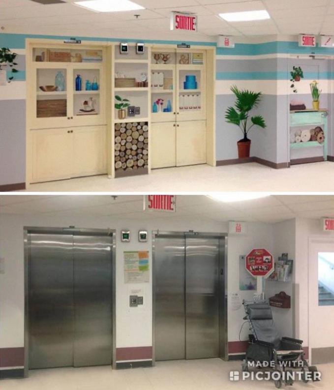 Liat nih perbedaan sebelum dan setelah didokrasi ulang liftnya. Jadi lebih enak dipandang ya?.