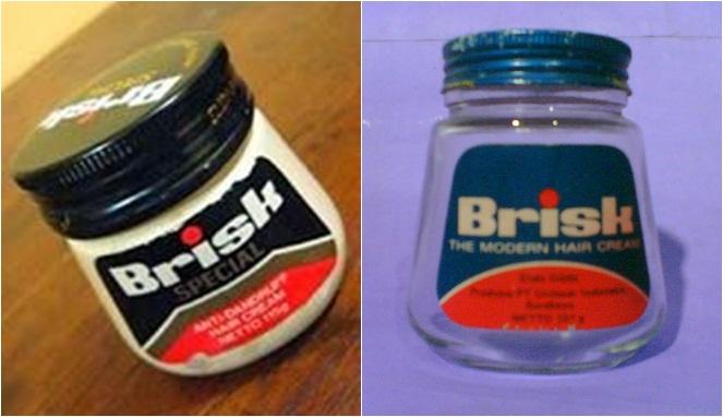 Selain Tancho, ada lagi nih minyak rambut merk Brisk yang nggak kalah hits. Sekarang sih sepertinya sudah nggak beredar lagi ya di pasaran.
