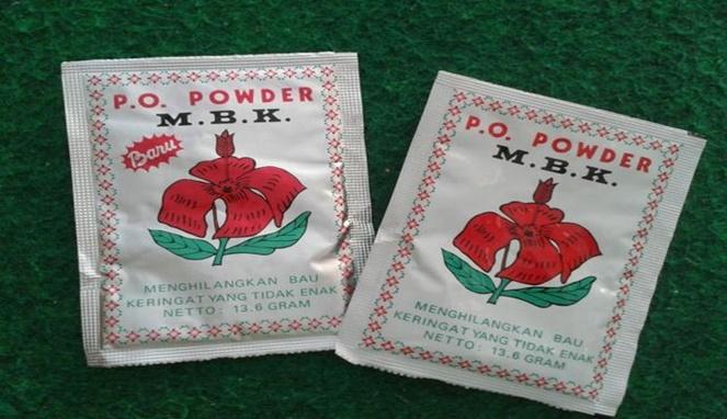 Ada bedak deodoran merek M.B.K nih Pulsker. Nah, dari ketujuh produk ini ada nggak yang pernah kalian gunakan?.