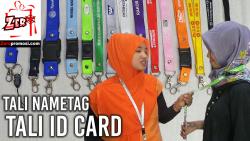 Video Tali Id Card - Tali Nametag Review by zeropromosi.com