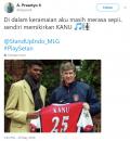 Plesetan Kocak ala Netizen Pakai Nama Pemain Bola