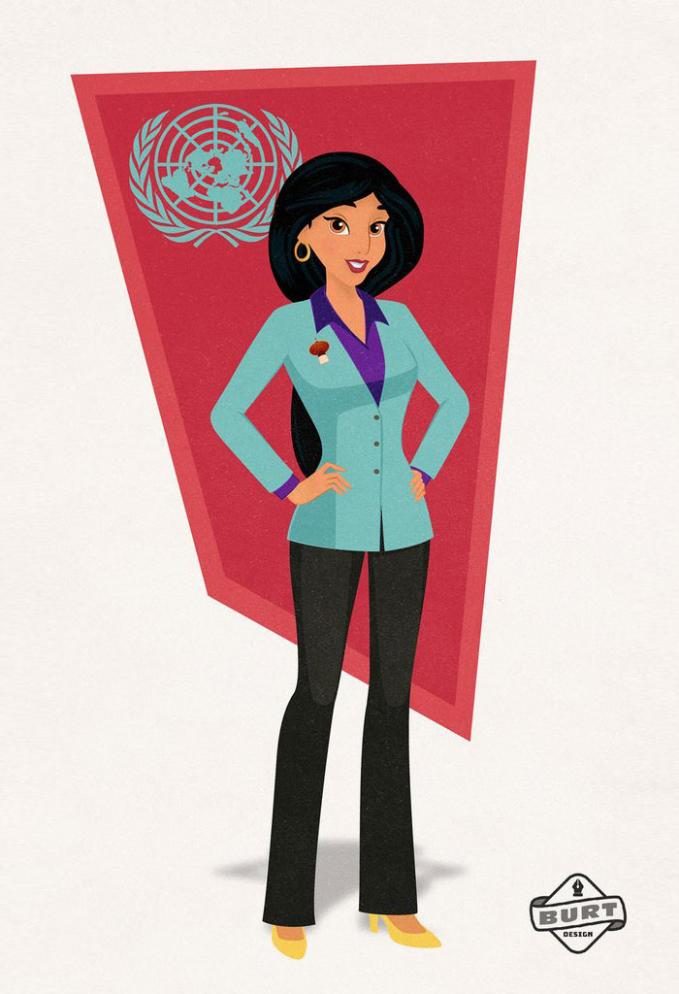 Jasmine pun memiliki karir cemerlang dengan menjadi duta PBB.
