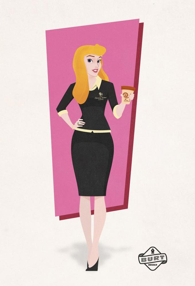 Putri Tidur atau Aurora kini nggak sering tidur lagi guys. Terinspirasi dari kisahnya, dia jadi CEO di perusahaan kopi.