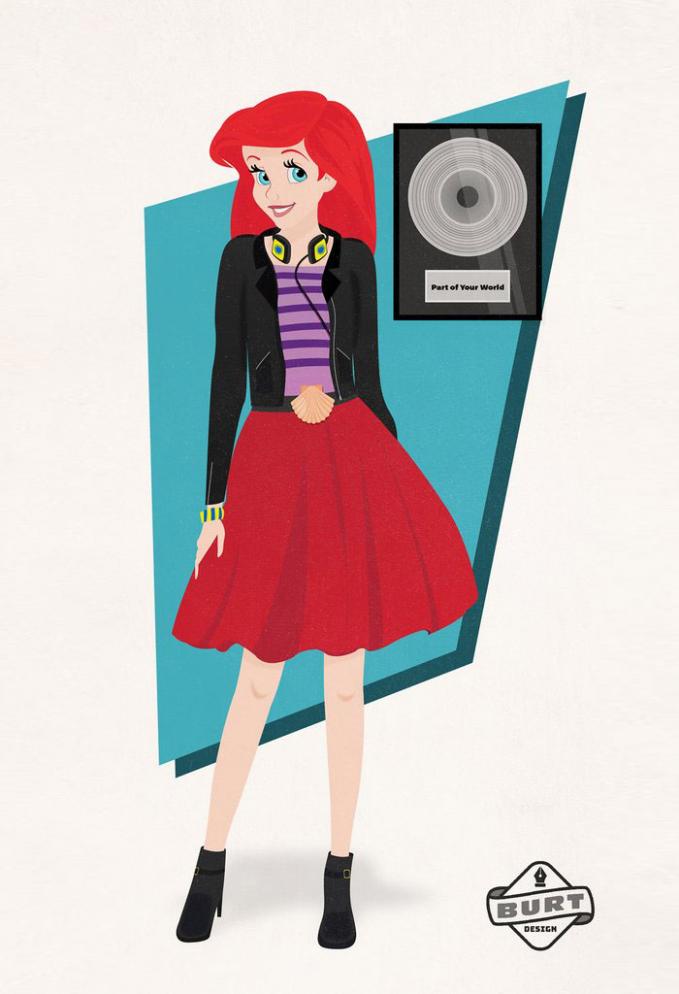 Karena penampilannya yang kekinian dan terlihat cantik, Ariel mencoba jadi seorang penyanyi sekaligus produser rekaman.