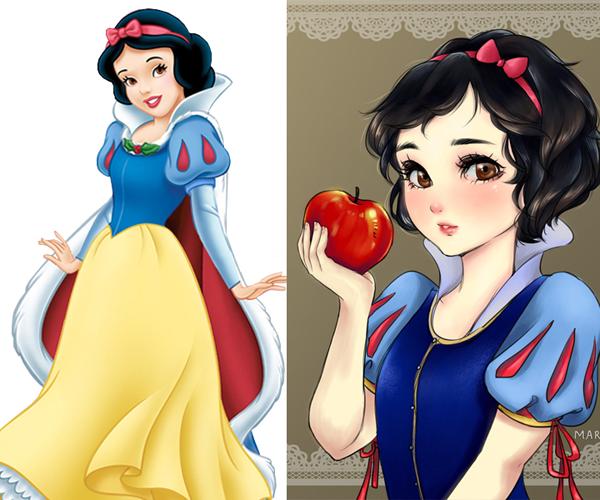 Bahkan Putri Salju terlihat muda banget ya Pulsker.