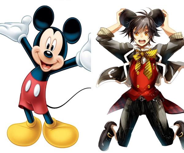 Mickey Mouse beda banget ya sama versi kartunnya?.