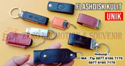 Keren!! USB Flashdisk Kulit - USB Flashdisk Souvenir Promosi