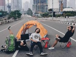 Lengangnya Jalanan Kota Jakarta yang Bisa Dibuat Santai Saat Lebaran