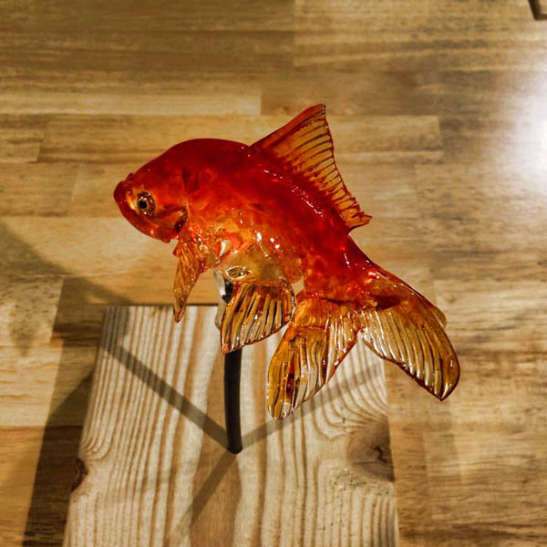 Gulali unik ini dibuat oleh seniman Jepang bernama Shinri Tezuka sob.