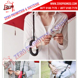 WOW Keren!!! Souvenir Payung Terbalik Promosi - Kazbrella Upside Down Umbrella Termurah