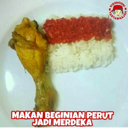 13 Meme Lucu Soal Makanan orang Indonesia Yang Kocak Banget