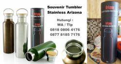 WOW Keren!!! Souvenir Tumbler Stainless ARIZONA MIZZU – Botol Premium Promosi