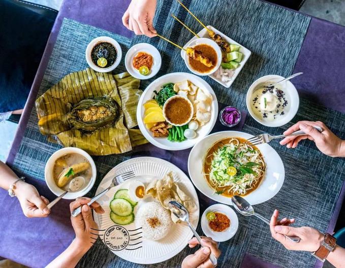 Hindari makan mewah di Mall atau restauran terlalu sering bersama teman teman, karena sekali makan di Mall bisa setara dengan budget makan selama beberapa hari sekaligus.