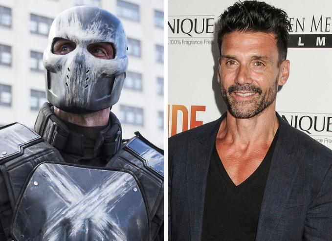 Masih ingat film Captain America ? Nah ini dia musuhnya yang bernama Crossbones, ternyata dibalik sosoknya yang seram ada aktor tampan bernama Frank Grillo.