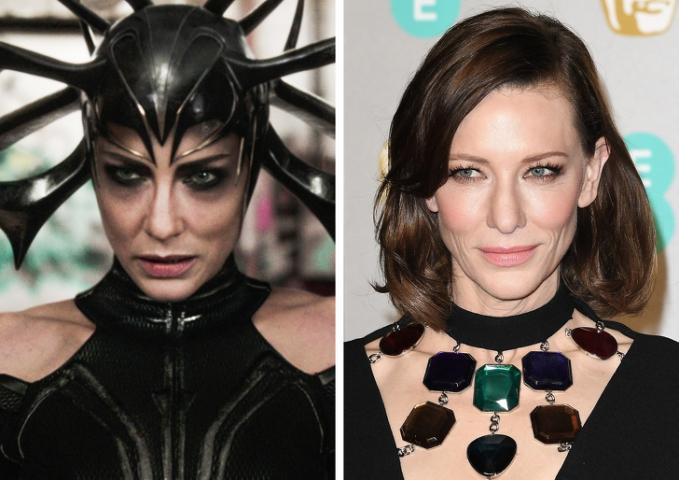 Ingat musuh utama di Film Thor : Ragnarok ? Dia itu ternyata masih saudarinya Thor yang bernama ratu Hela, dibalik peran antagonisnya terdapat sosok cantik bernama Cate Blanchett.