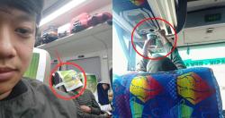 9 Foto Kelakuan Penumpang Angkutan Umum Yang Gak Biasa, Gemes Lihatnya!