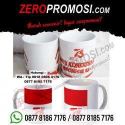 WOW Keren!!! Promo Mug Merah Putih - Souvenir Mug Promosi 17 Agustus