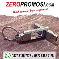 WOW Keren!!! Souvenir USB Metal Putar – Flashdisk FDMT24 Promosi Perusahaan Eksklusif