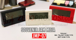 WOW Keren!!! Souvenir Jam Meja Promosi - Merchandise Kantor JMP-07