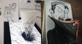 [15 Foto] Bukti Saat Orang Kreatif Nganggur Corat Coret Kertas Jadi Karya Keren